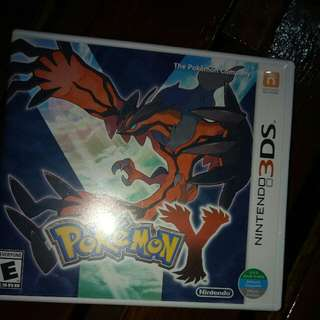 Pokemon Y For 3ds