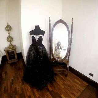 For Sale! Preloved Black Gown