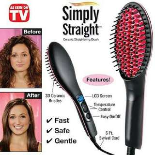 Simply Straight (Ceramic Straightening Brush)