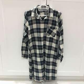 Korean Shirt Dress