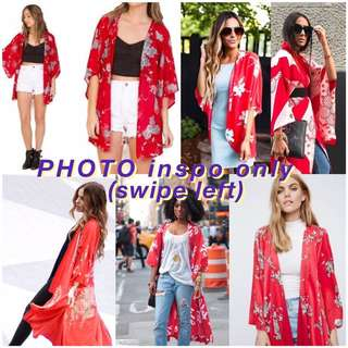 BNEW KIMONO cardigan / cover up