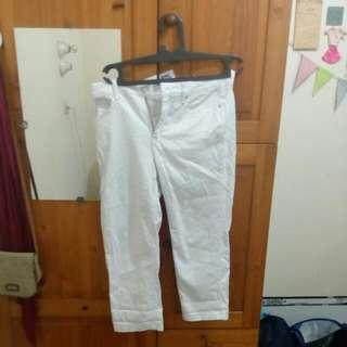 REPRICE!!! Celana Panjang Putih Size 40