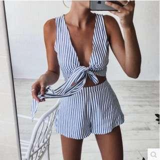 Stripes Two Piece