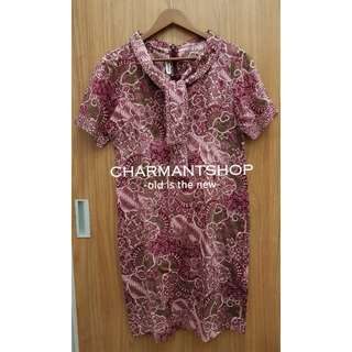 DRESS BATIK KERIS (ASLI) UKURAN XL