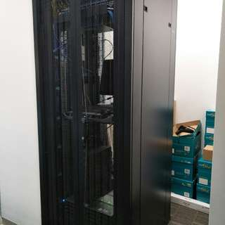TOTEN Standard Equipment Rack / Cabinet / Enclosure – 42U, 19″ (W800 x D800 x H2055mm).