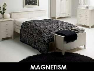 MAGNETISM WOODEN BED