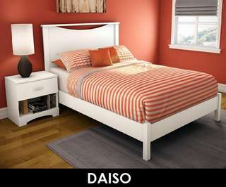 DAISO WOODEN BED