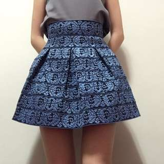 Structured Stretchy Skirt