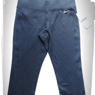 🚚 Asics 亞瑟士 吸濕排汗 運動褲 瑜珈褲 顯瘦版 MIT Capri