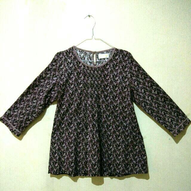 3/4 Sleeve Batik Blouse