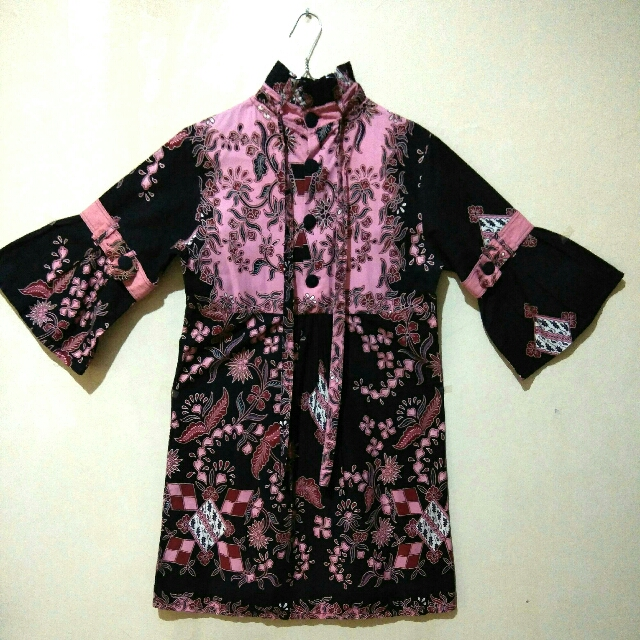 3/4 Sleeve Batik Tunic