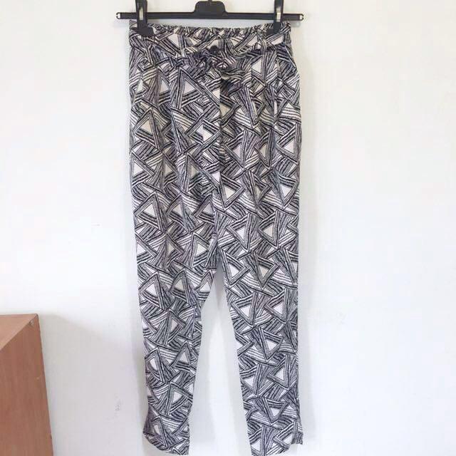 幾何圖形老爺褲