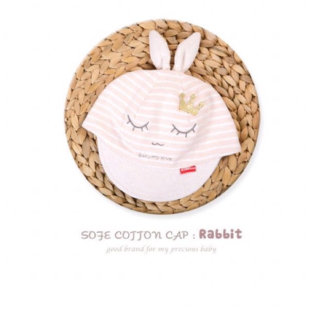 兔兔👑皇冠圖案鴨舌帽(現貨)
