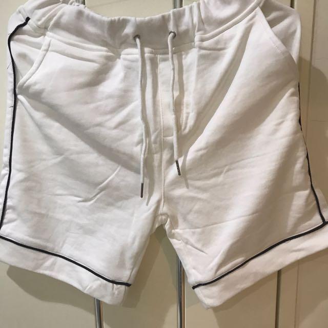 韓國代購 線條運動褲