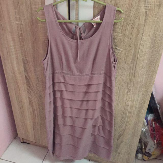 A Line Lavender Dress
