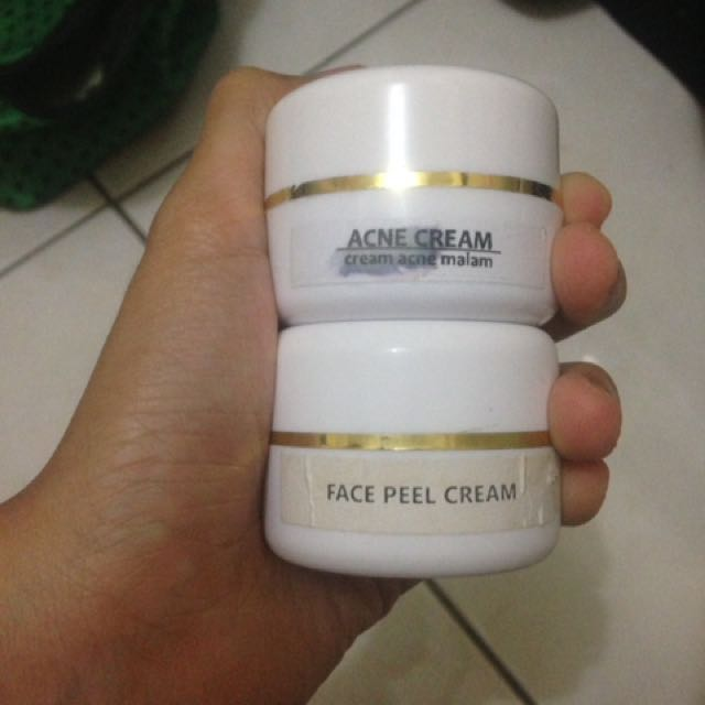 Acne Mlm Dan Peeling Cream Theraskin No Label