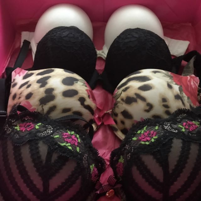 Add 2 Cups! Double Push Up Bras