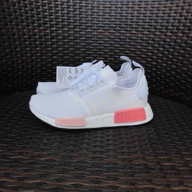 ede6be80064d Adidas NMD R1 Mesh White Rose Pink UK6.5