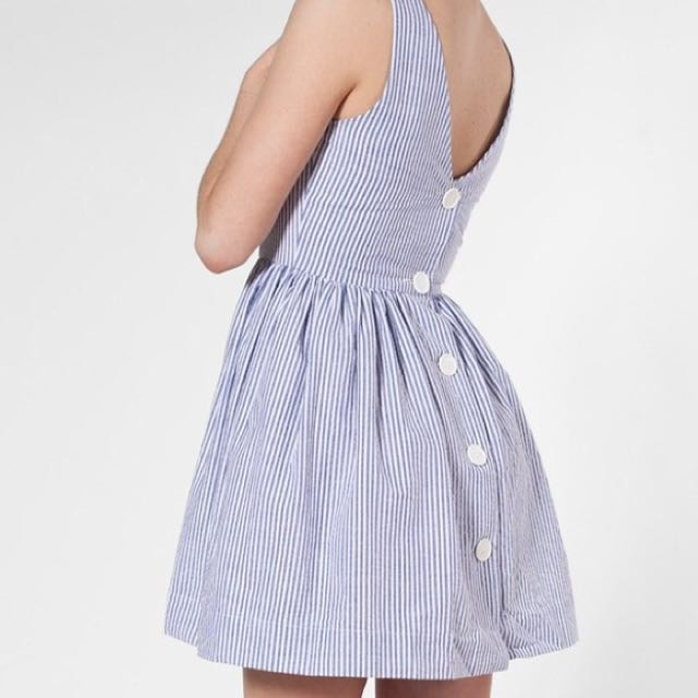 American Apparel Seersucker Dress