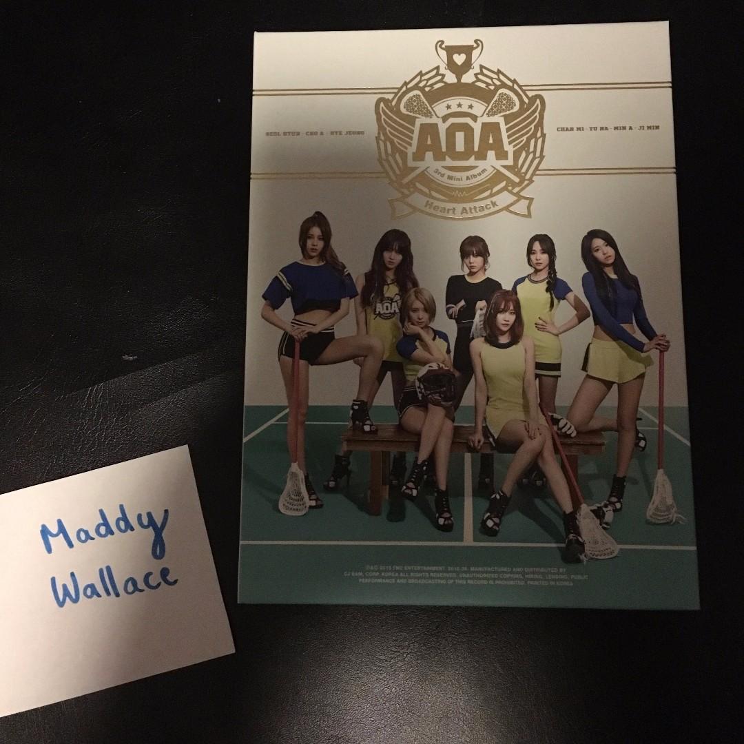 Aoa heart attack album