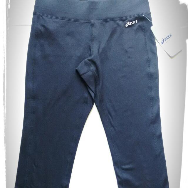 Asics 亞瑟士 吸濕排汗 運動褲 瑜珈褲 顯瘦版 MIT Capri