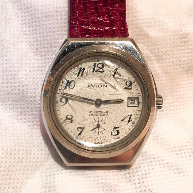 AVION古董機械錶