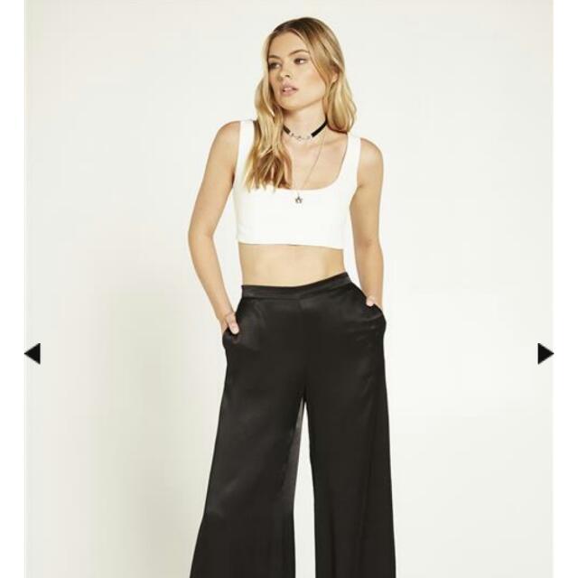 Bardot Aria Crop Top Size 10