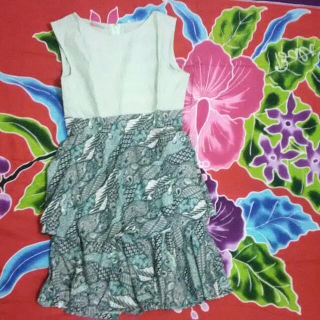 batik dress #carousell17