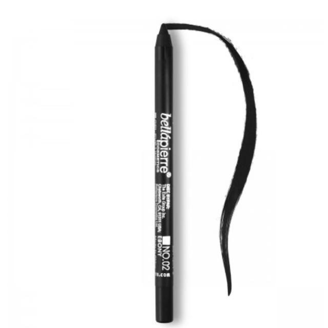 Bella Pierre Waterproof Gel Eyeliner In Ebony