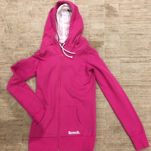 BENCH (UK) pink hoodie