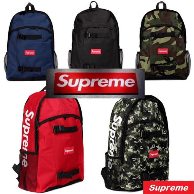 733d9a969b 🔥Best Product🔥 Supreme Backpack School Bag Casual Backpack ...