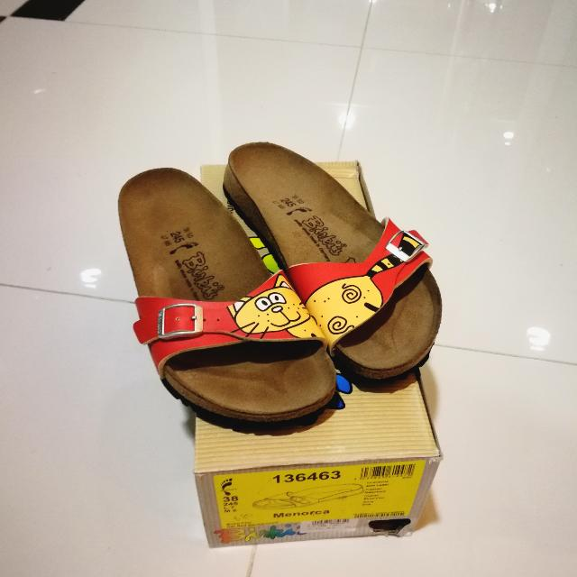 100% authentic f33b9 2c605 Birkenstock (Menorca Cat), Women's Fashion, Shoes on Carousell
