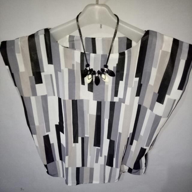 Blouse || Free Necklace