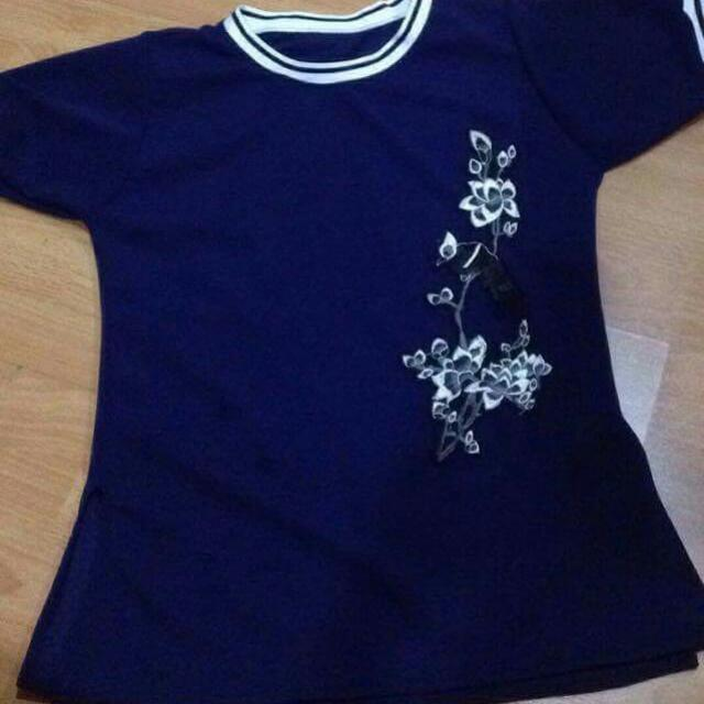 Blouse With Bird Patch (Bnew)