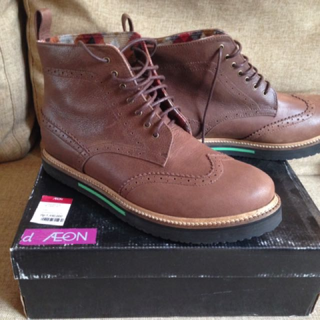 Boots s.Baldo Brown Size 44 Leather 51a2822be41