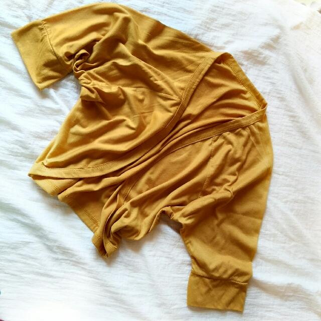 Cardigan Casual Kuning