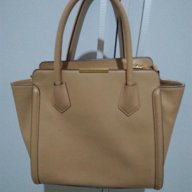 Charles Keith Cream Bag