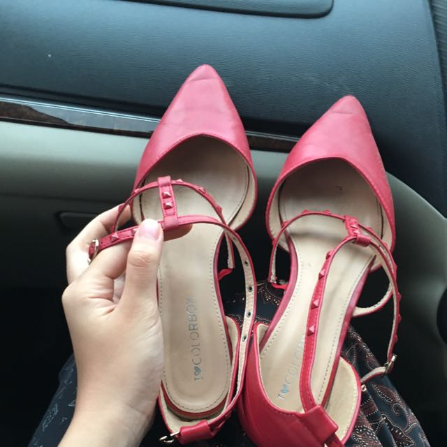Colorbox Pointed Flatshoes