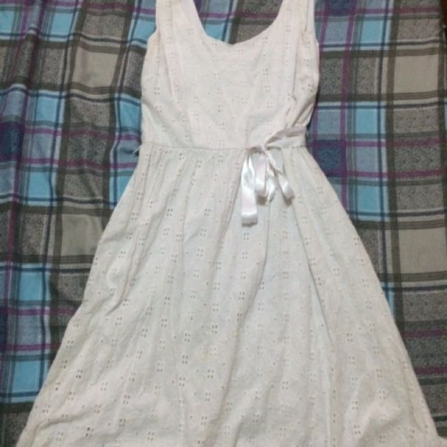 Repriced!! Cute White Dress