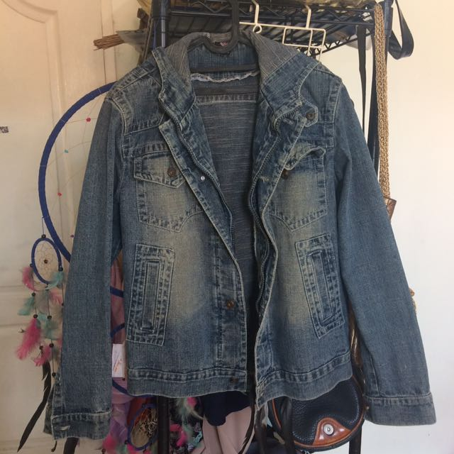 Denim Hoody Outer