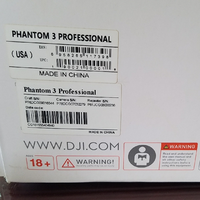 Dji Phantom 3 Professional 1 Battery Photography On Carousell