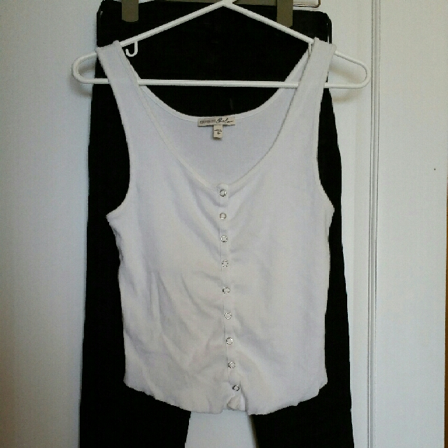 Express Button Up Tank