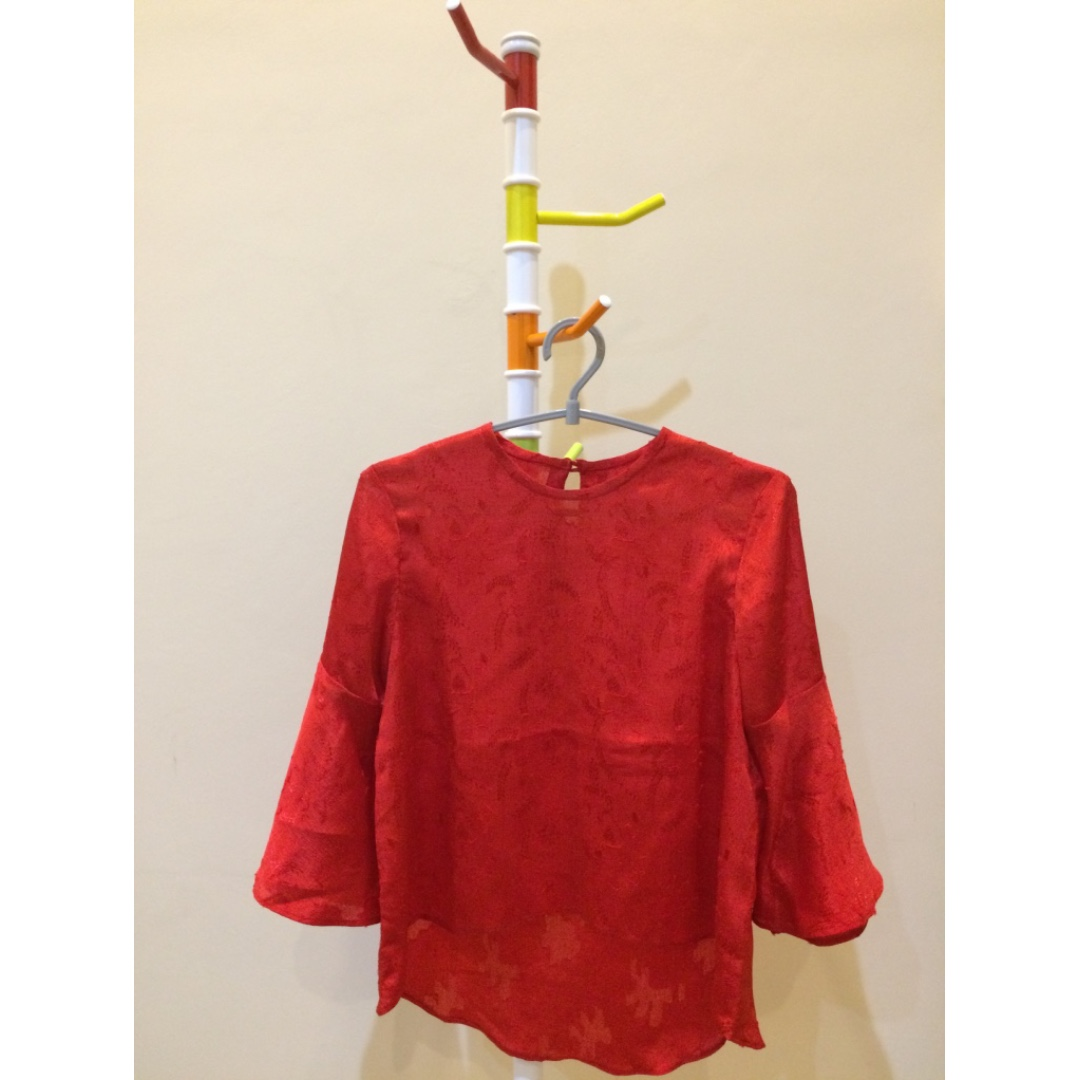 Flare Red Top