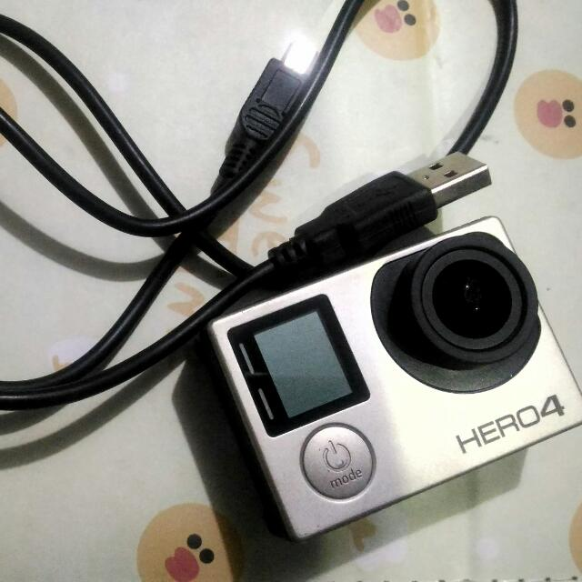 For Sale! Last Price 8K Go Pro Hero 4 Silver Edition