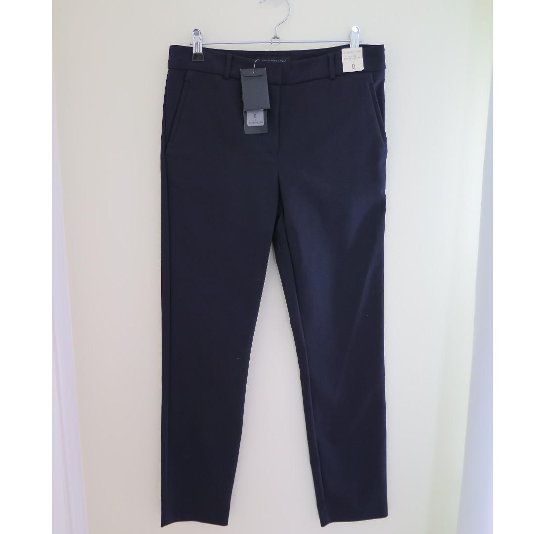 Forever New Navy Slim Pants