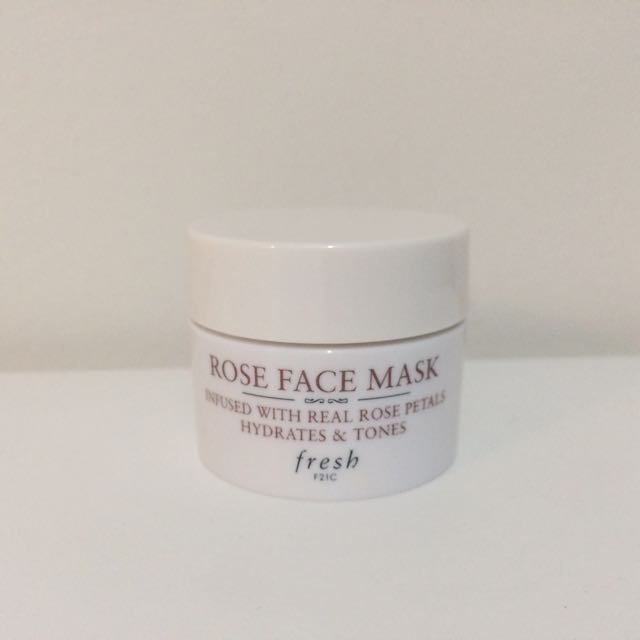 Fresh Rose Mask Deluxe Sample