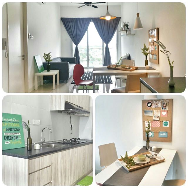 Furnished Studio Apartments: (Fully Furnished) Desa Green Studio Apartment, Property