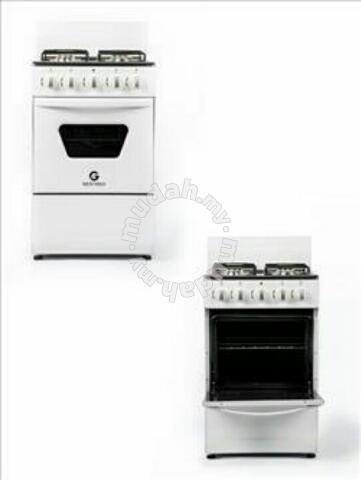Gas Dapur 4 Burner Gestreo Dengan Ketuhar 50l Peralatan Di Carou