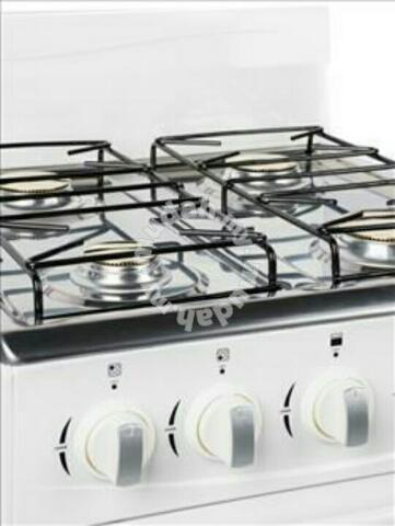 Gas Dapur 4 Burner Gestreo Dengan Ketuhar 50l Kitchen