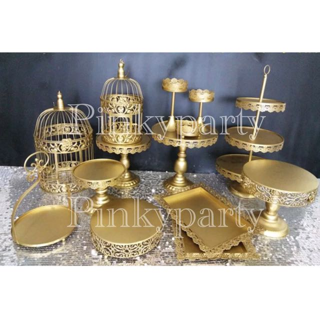 Gold Cake Standstrays For Rentsale Home Appliances On Carousell